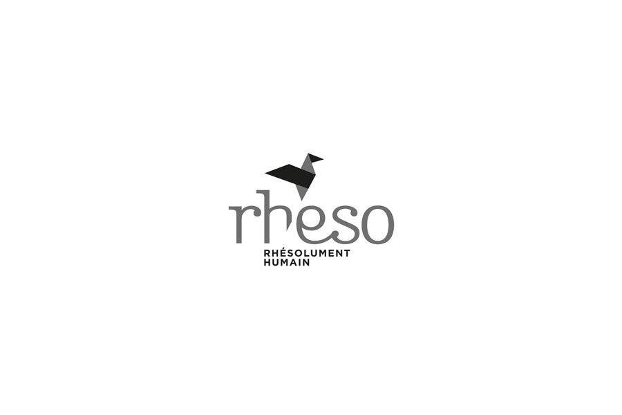 papeterie Rheso identité visuelle graphisme
