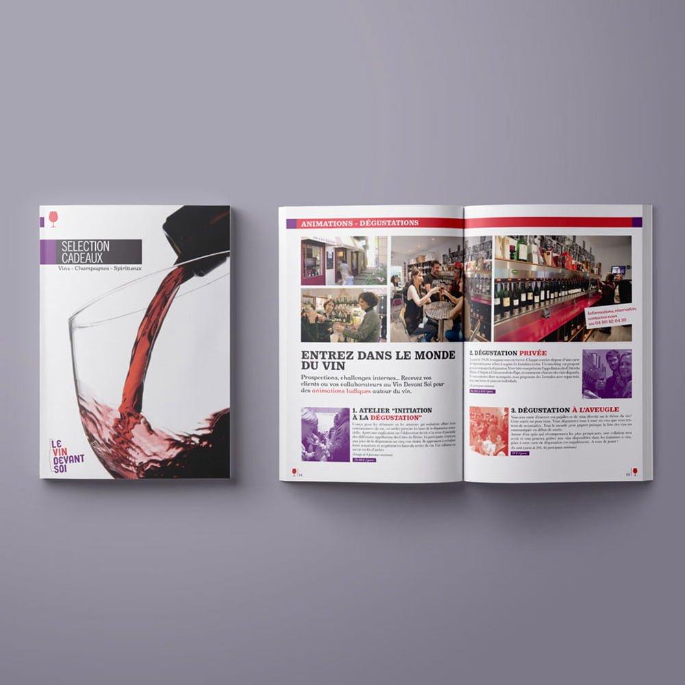 le-vin-devant-soi-edition-brochure-catalogue-valerie-mersier