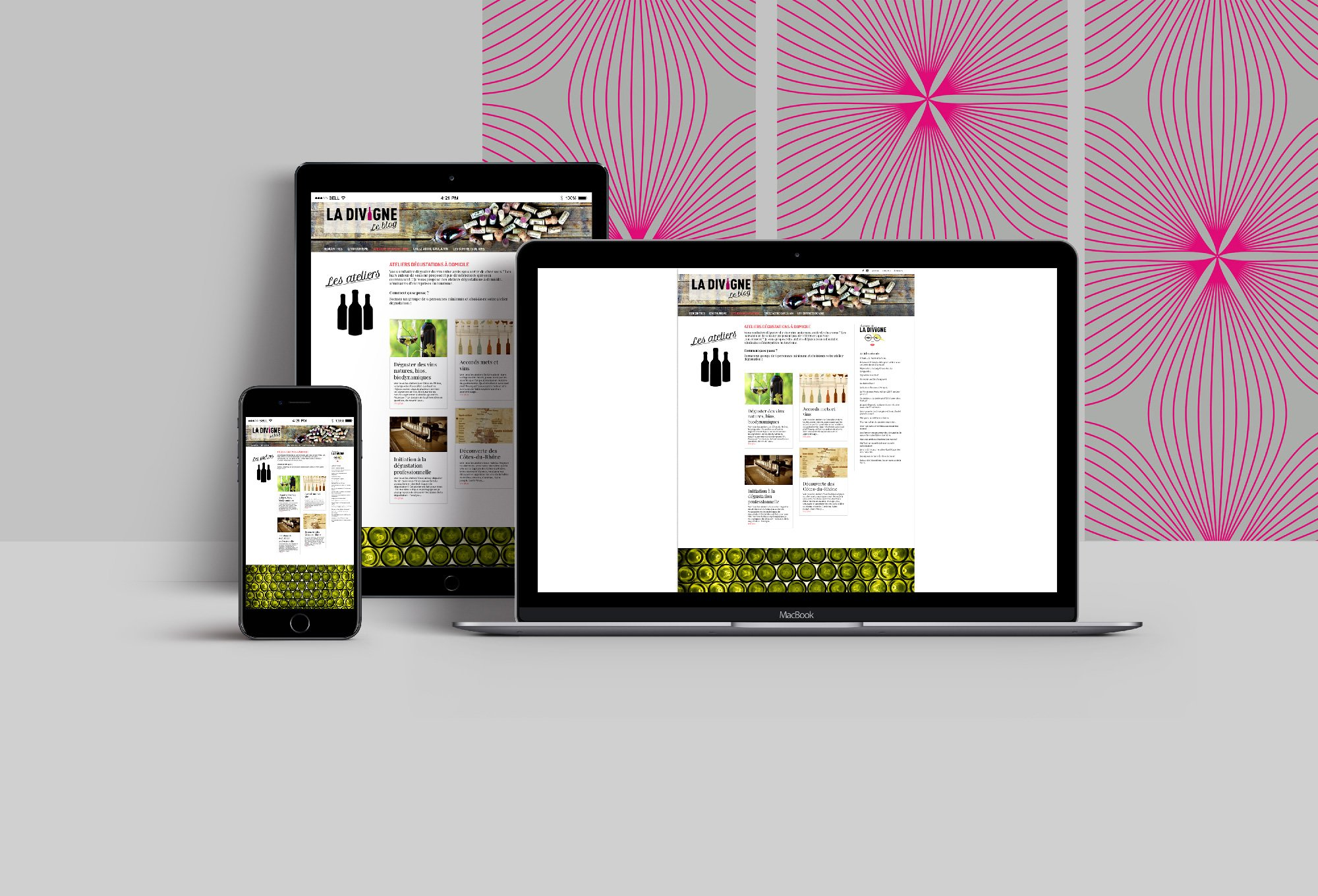 Blog de La Divigne création de site