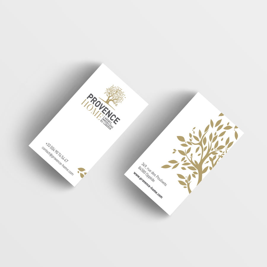 Provence Home, papeterie et logotype
