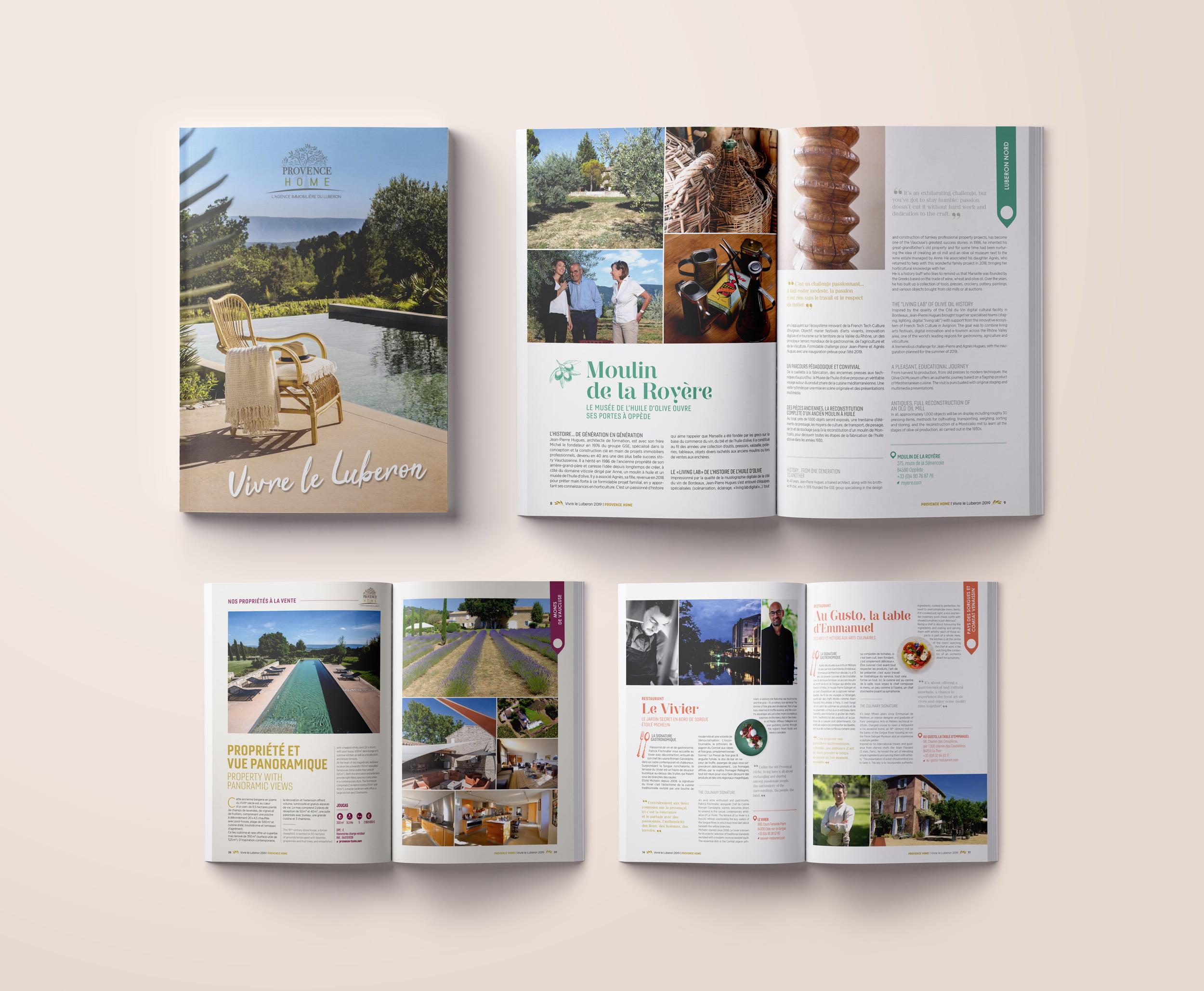 Provence Home, Edition du livre sur le Luberon