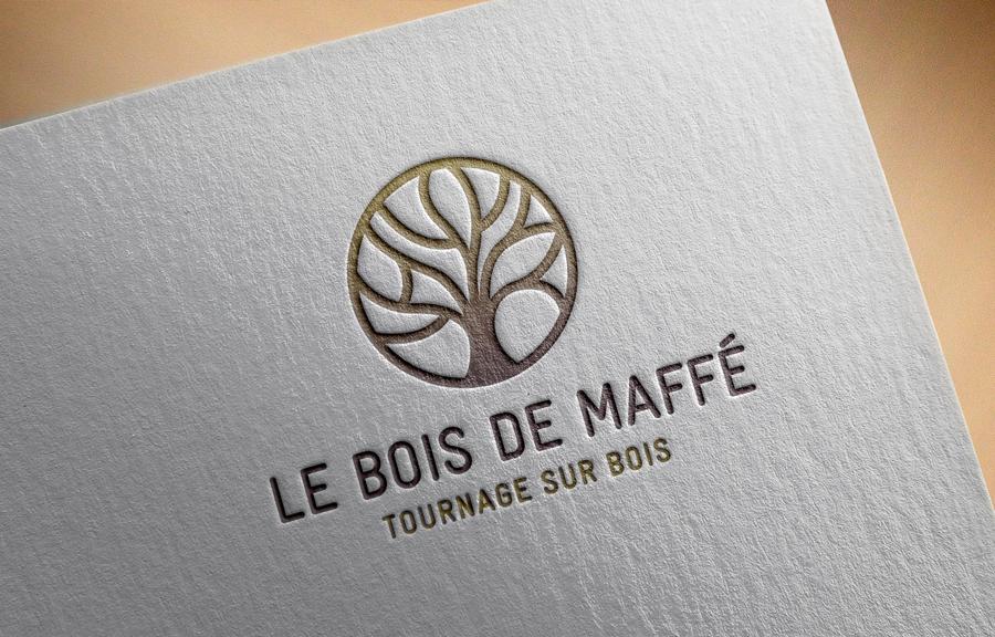 Design graphique, logo Bois de Maffe