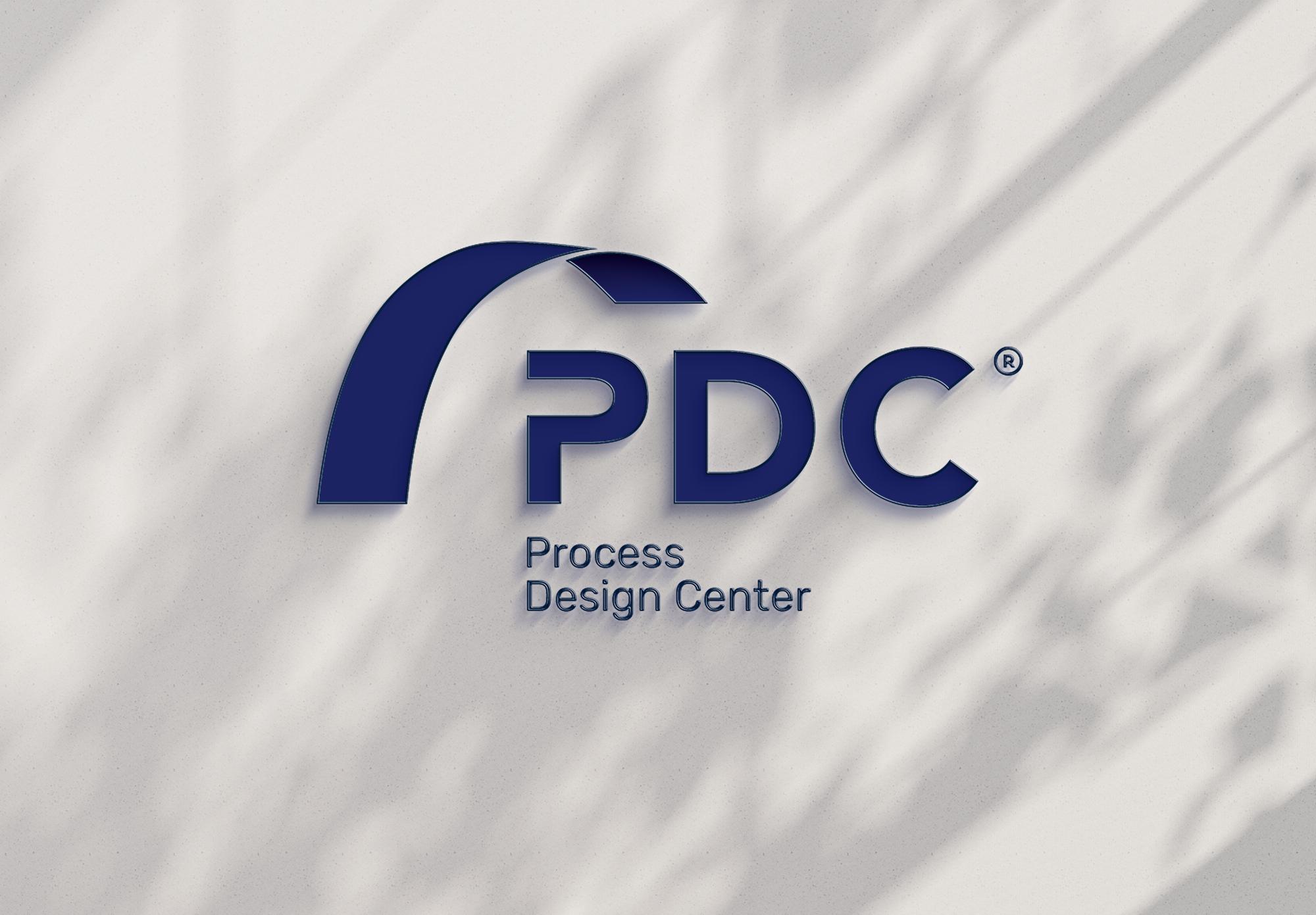 Logo Process design Center, graphisme