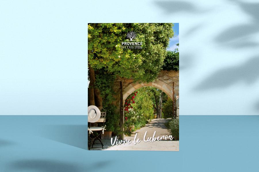 Provence Home, Edition du livre sur le Luberon, conception, Valerie Mersier